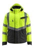 MASCOT-Workwear-Warn-Schutz-Piloten-Jacke, Hastings, SAFE SUPREME, 210 g/m², gelb/schwarz
