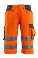 MASCOT-Workwear-Warn-Schutz-Shorts, Luton, SAFE SUPREME, 290 g/m², orange/schwarzblau