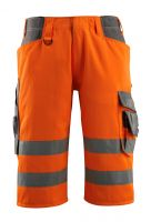MASCOT-Workwear-Warn-Schutz-Shorts, Luton, SAFE SUPREME, 290 g/m², orange/dunkelanthrazit