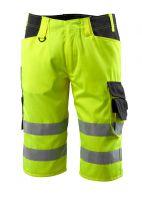 MASCOT-Workwear-Warn-Schutz-Shorts, Luton, SAFE SUPREME, 290 g/m², gelb/schwarz
