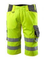 MASCOT-Workwear-Warn-Schutz-Shorts, Luton, SAFE SUPREME, 290 g/m², gelb/dunkelanthrazit
