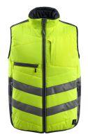 MASCOT-Warnschutz-Thermoweste, Grimsby,  115 g/m², gelb/schwarzblau