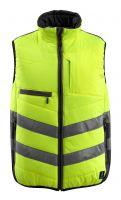 MASCOT-Warnschutz-Thermoweste, Grimsby,  115 g/m², gelb/schwarz