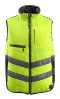 MASCOT-Warnschutz-Thermoweste, Grimsby,  115 g/m², gelb/dunkelanthrazit