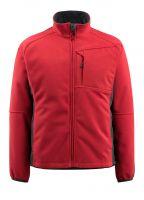 MASCOT-Workwear-Winter-Fleece-Arbeits-Berufs-Jacke, MARBURG, rot/schwarz