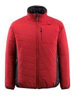 MASCOT-Workwear-Thermo-Arbeits-Berufs-Jacke, ERDING, rot/schwarz