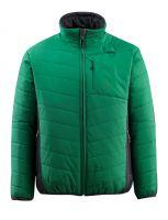 MASCOT-Workwear-Thermo-Arbeits-Berufs-Jacke, ERDING, grün/schwarz