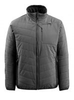 MASCOT-Workwear-Thermo-Arbeits-Berufs-Jacke, ERDING, anthrazit/schwarz