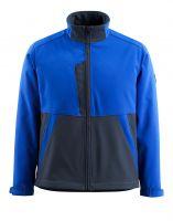 MASCOT-Soft Shell Jacke, Finley, 280 g/m², kornblau/schwarzblau