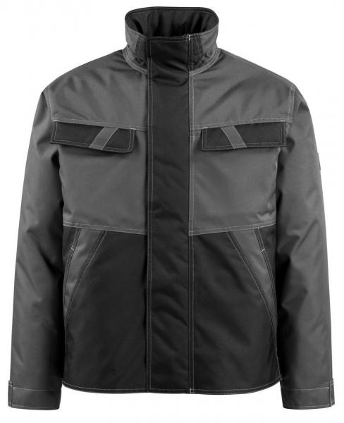 MASCOT-Workwear-Winter-Piloten-Arbeits-Berufs-Jacke, ALBURY, dunkelanthrazit/schwarz
