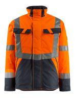 MASCOT-Workwear-Warn-Schutz-Piloten-Jacke, Penrith, SAFE LIGHT, 210 g/m², orange/schwarzblau