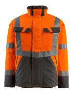 MASCOT-Workwear-Warn-Schutz-Piloten-Jacke, Penrith, SAFE LIGHT, 210 g/m², orange/dunkelanthrazit