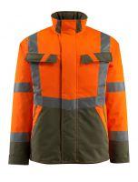 MASCOT-Workwear-Warn-Schutz-Piloten-Jacke, Penrith, SAFE LIGHT, 210 g/m², orange/moosgrün