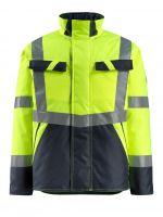MASCOT-Workwear-Warn-Schutz-Piloten-Jacke, Penrith, SAFE LIGHT, 210 g/m², gelb/schwarzblau