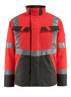 MASCOT-Workwear-Warn-Schutz-Piloten-Jacke, Penrith, SAFE LIGHT, 210 g/m², rot/dunkelanthrazit