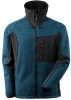 MASCOT-Workwear-Arbeits-Berufs-Strick-Jacke, ADVANCED, mit Membran, 460 g/m², dunkelpetroleum/schwarz