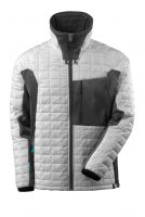 MASCOT-Workwear-Thermo-Arbeits-Berufs-Jacke, ADVANCED, mit CLIMASCOT®, 240 g/m², weiß/dunkelanthrazit