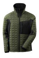 MASCOT-Workwear-Thermo-Arbeits-Berufs-Jacke, ADVANCED, mit CLIMASCOT®, 240 g/m², moosgrün/schwarz
