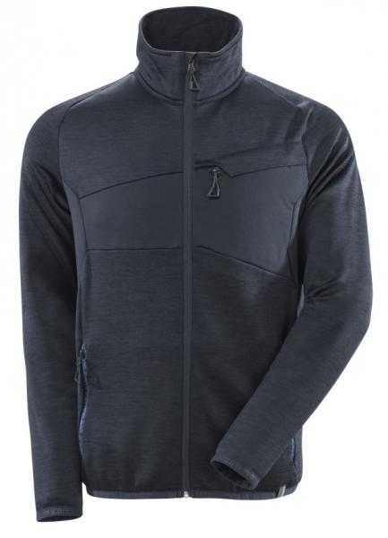 MASCOT-Fleecepullover mit Reißverschluss, ACCELERATE, 260 g/m², schwarzblau