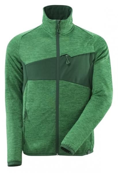 MASCOT-Fleecepullover mit Reißverschluss, 260 g/m², grasgrün/grün