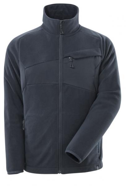 MASCOT-Fleecepullover mit Reißverschluss, 270 g/m², schwarzblau