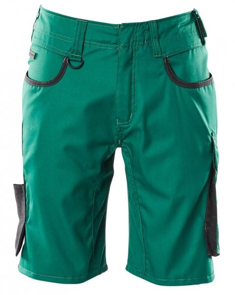 MASCOT-Shorts, UNIQUE, 205 g/m², grün/schwarz