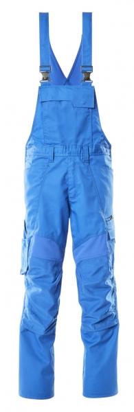 MASCOT-Arbeits-Latzhose, ACCELERATE, 76 cm, 270 g/m², azurblau