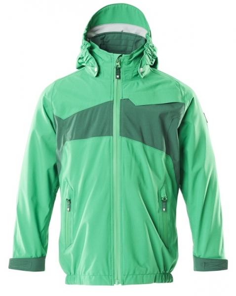 MASCOT-Kinder Hard Shell Jacke,  ACCELERATE, 115 g/m², grasgrün/grün