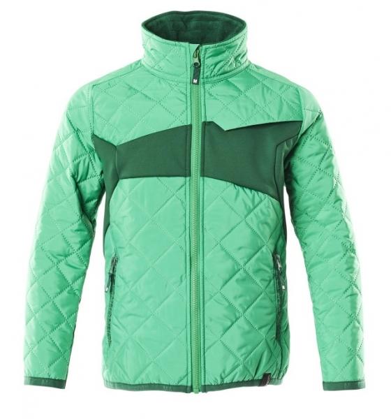 MASCOT-Kinder Jacke, ACCELERATE, 260 g/m², grasgrün/grün