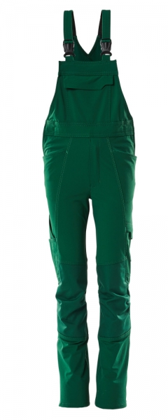 MASCOT-Kinder Latzhose, 250 g/m², grün