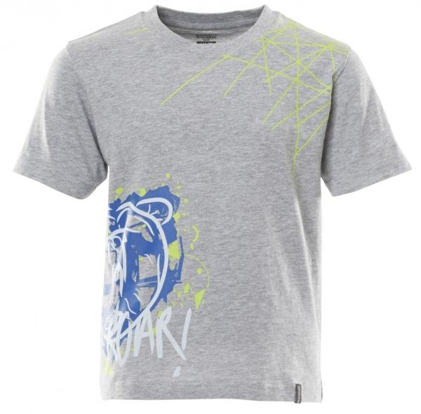 MASCOT-Kinder T-Shirt, 175 g/m², grau-meliert