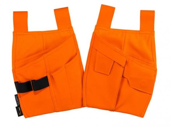 MASCOT-Warnschutz-Hängetaschen, COMPLETE, warnorange