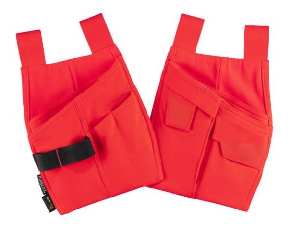 MASCOT-Warnschutz-Hängetaschen, COMPLETE, warnrot