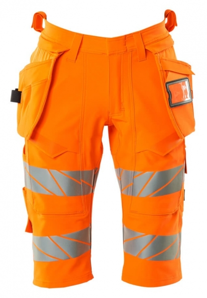 MASCOT-Warnschutz-Shorts, lang, ACCELERATE SAFE, high vis orange