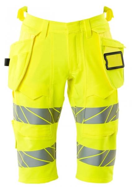 MASCOT-Warnschutz-Shorts, lang, ACCELERATE SAFE, high vis gelb