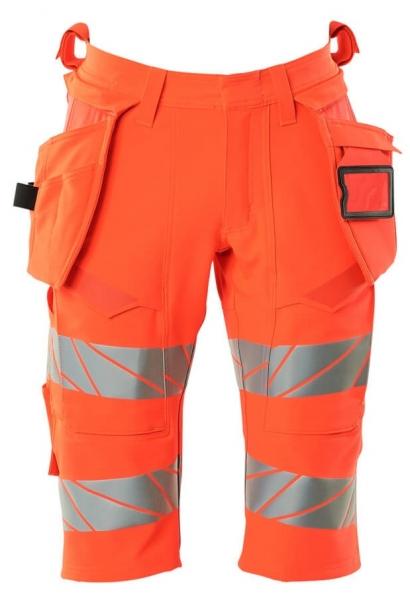 MASCOT-Warnschutz-Shorts, lang, ACCELERATE SAFE, high vis rot