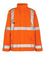MASCOT-Workwear, Warnschutz-Regenjacke, Feldbach,  210 g/m², orange