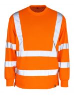MASCOT-Workwear-Warn-Schutz-Sweatshirt, MELITA, MG245, orange