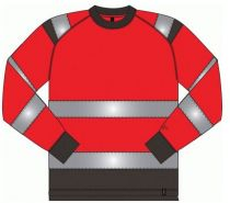 MASCOT-Workwear-Warn-Schutz-Sweatshirt, MONTIJO, MG245, fluoreszierendes R
