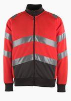 MASCOT-Workwear-Warn-Schutz-Sweatshirt MAIA, rot/anthrazit