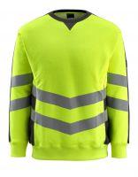 MASCOT-Warnschutz-Sweatshirt, Wigton,  310 g/m², gelb/schwarz