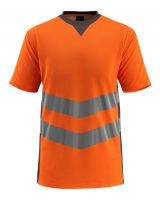 MASCOT-Workwear-Warn-Schutz-T-Shirt, Sandwell, SAFE SUPREME, 170 g/m², orange/dunkelanthrazit