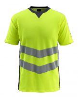 MASCOT-Warnschutz-T-Shirt, Sandwell,  170 g/m², gelb/schwarzblau