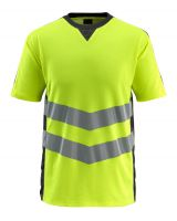 MASCOT-Warnschutz-T-Shirt, Sandwell,  170 g/m², gelb/schwarz