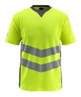 MASCOT-Warnschutz-T-Shirt, Sandwell,  170 g/m², gelb/dunkelanthrazit