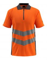 MASCOT-Workwear-Warn-Schutz-Polo-Shirt, Murton, SAFE SUPREME, 170 g/m², orange/dunkelanthrazit