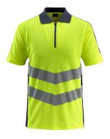 MASCOT-Warnschutz-Polo-Shirt, Murton,  170 g/m², gelb/schwarzblau