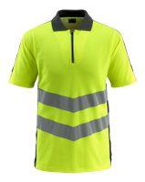 MASCOT-Workwear-Warn-Schutz-Polo-Shirt, Murton, SAFE SUPREME, 170 g/m², gelb/schwarz