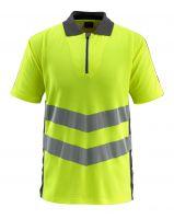 MASCOT-Workwear-Warn-Schutz-Polo-Shirt, Murton, SAFE SUPREME, 170 g/m², gelb/dunkelanthrazit