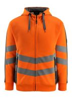 MASCOT-Workwear-Warn-Schutz--Sweatshirt, Corby, SAFE SUPREME, 310 g/m², orange/dunkelanthrazit
